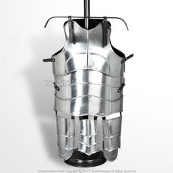 Medium Size Medieval 18G Steel Deluxe Plate Armor Cuirass Type G Tassets SCA LAR