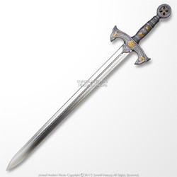 "42"" Medieval Knights High Density Foam Crusader Sword LARP Renaissance Cosplay"