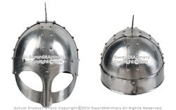 Gjermundbu Viking Helmet with Leather Liner LARP Medieval Renaissance Costume