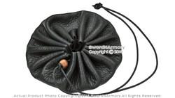 Medieval Renaissance Leather Drannustring Coin Bag Pouch Pirate Costume LARP