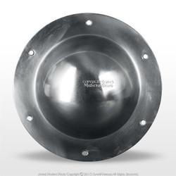 """14 Gauge Steel 7.5"""" Combat Grade Functional Medieval Shield Umbo Boss SCA HEMA"""