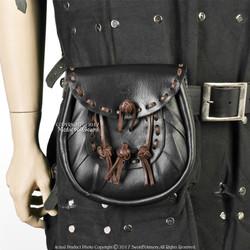 Medieval Renaissance Scottish Costume Sporran Genuine Leather Kilt Pouch Purse