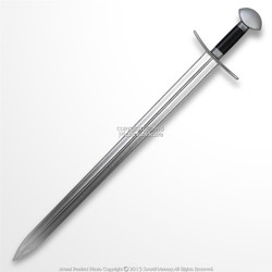 "39"" Medieval Viking Foam Arming Sword Renaissance Cosplay Weapon LARP Toy Blade"