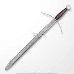 "15.8"" Hand and a Half Knight Mini Long Sword Unsharpened Historic Dagger w/ Hanger"