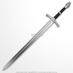"42"" Hand an a Half  Medieval Knight Foam Arming Sword Cosplay Weapon LARP Toy"