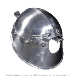 Functional Battle Ready Cup Hilt for Rapier Sword 16G Steel SCA Fencing Compete