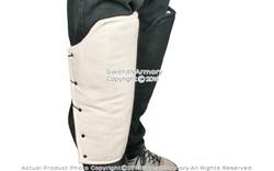 Large Heavy Duty Cotton Padded Leg Greaves Medieval Renaissance Costume SCA LARP