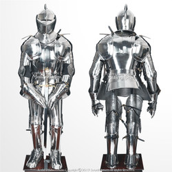 Sir Lancelot Wearable Medieval Knight Full Suit of Armor Stainless Steel