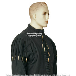 15 Century XL Medieval Arming Doublet Jacket Functional Combat Gambeson SCA LARP