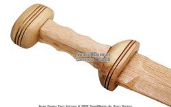 Wooden Roman Gladius Gladiator Trooper Greek Sword