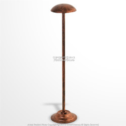 "26"" Tall Medieval Viking Roman Greek IronHelmet Display Stand Copper Coated"