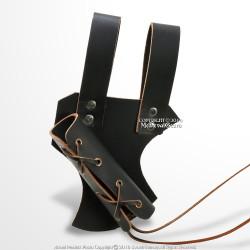 Genuine Quality Leather Medieval Sword Frog Belt for Rapier Blade LARP