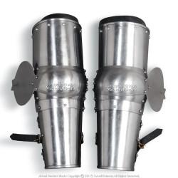 Medieval Arms Plate Armor Leaf Elbow Protector Type B 18 Gauge Steel SCA WMA