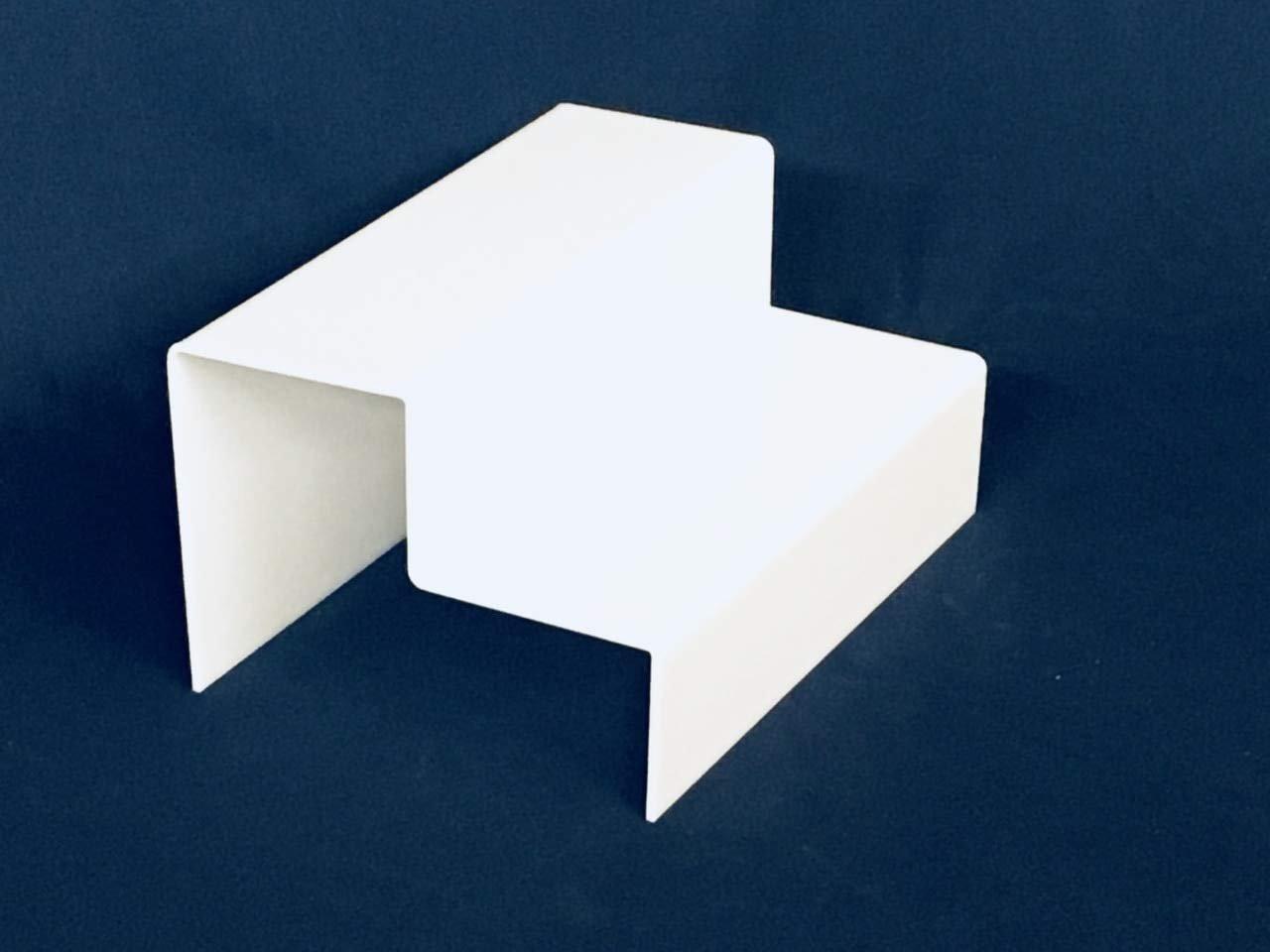 2 Step Riser Set, White, 2 Sets Included