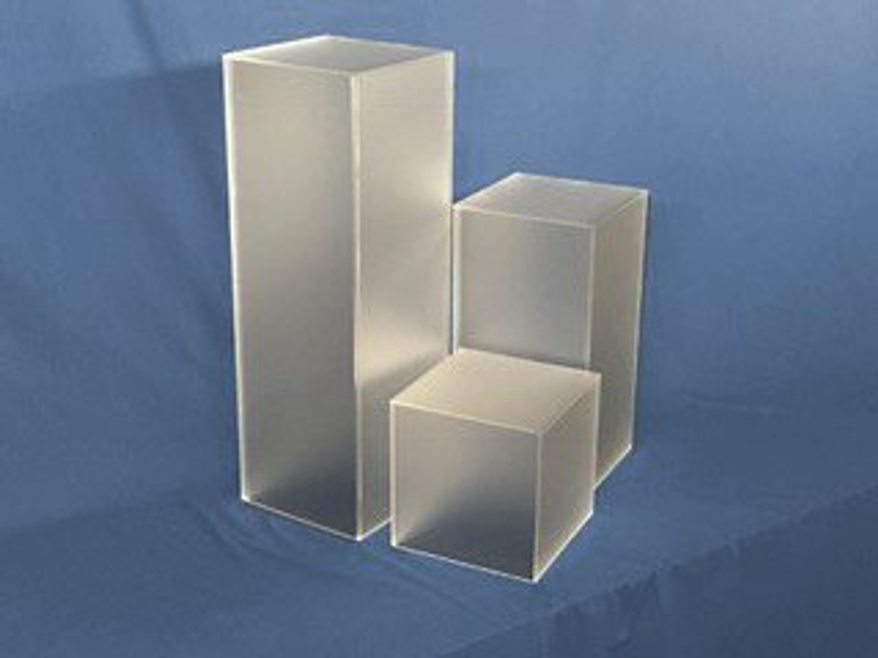 Frosted Square Acrylic Display Cube