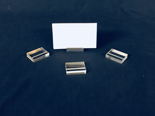 LUCITE LARGE GUEST PLACE CARD HOLDERS - CLEAR (48 pk.)