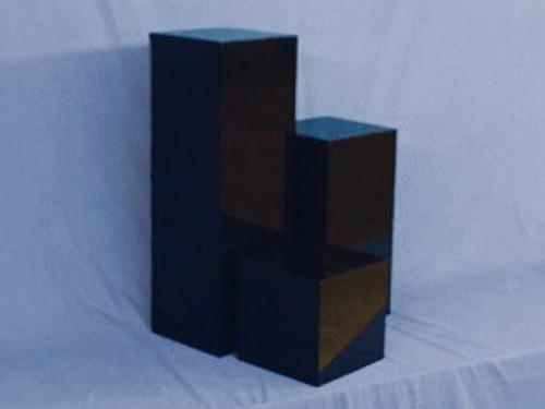 Black Square Acrylic Display Cube
