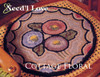 Cottage Floral Hooked Rug