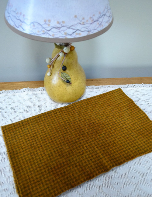 Mustard Seed, Primitive on Gray Houndstooth