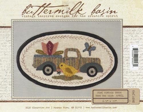Vintage Truck Mini - April