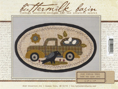 Vintage Truck Mini - May