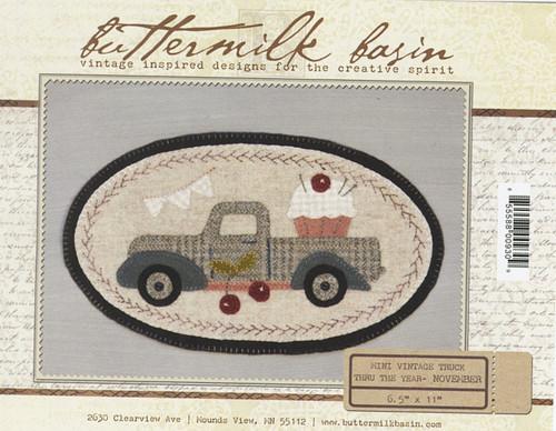 Vintage Truck Mini - November