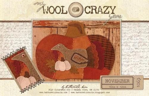 Wool Crazy Year - November Turkey