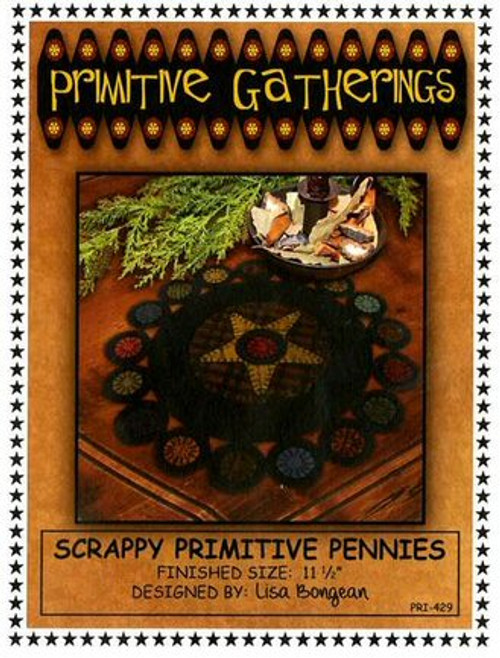 Scrappy Primitive Pennies