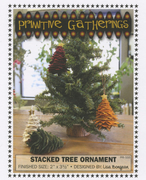 Stacked Tree Ornament