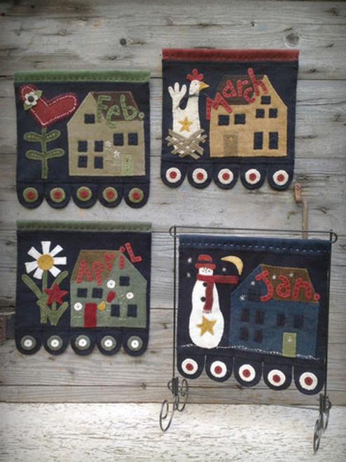 Saltbox House Part 1 - Wool Applique