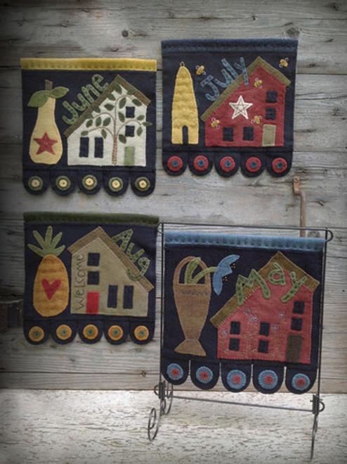 Saltbox House Part 2 - Wool Applique