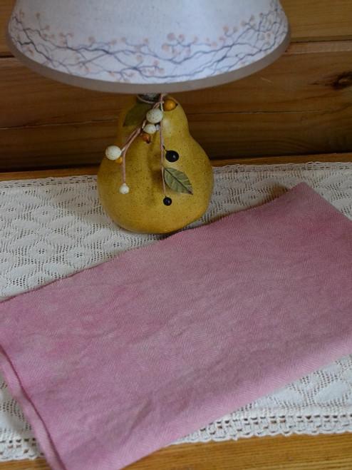 Strawberry Sherbet (V1) on Camel Herringbone