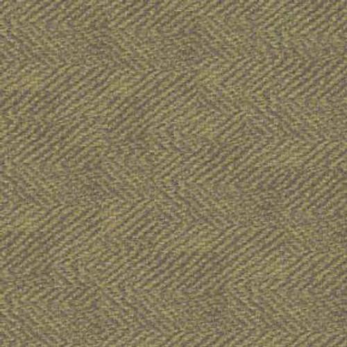 Woolies Flannel  - Green Herringbone