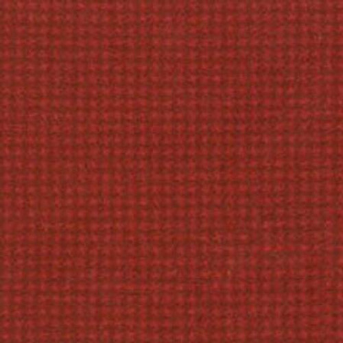 Woolies Flannel  - Red Tiny Houndstooth