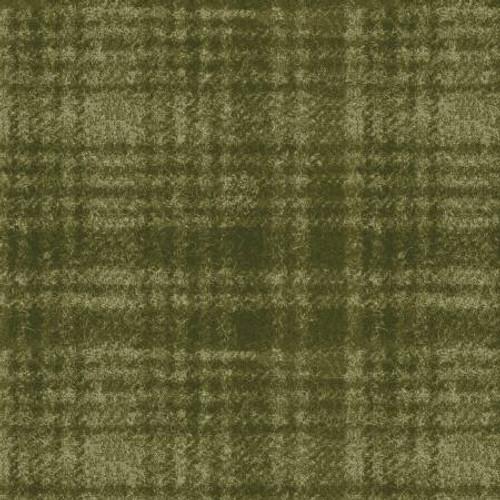 Woolies Flannel  - Green Large Windowpane
