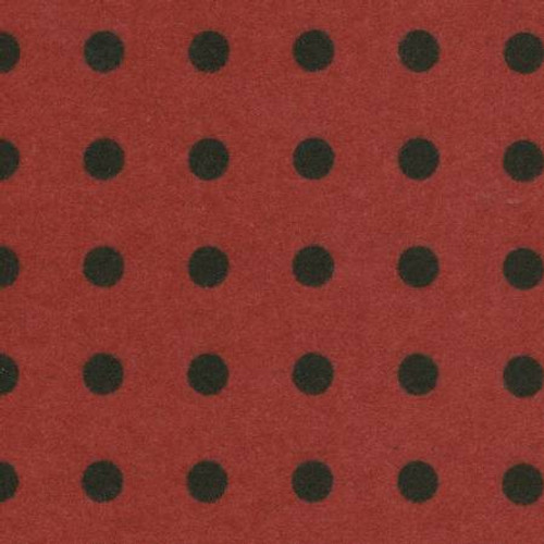 Woolies Flannel  - Red Dots (Large)