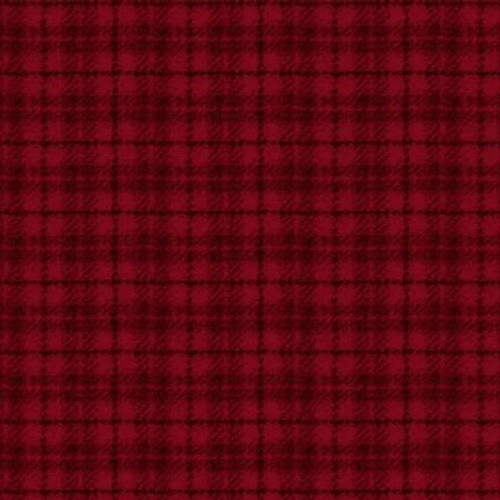 Woolies Flannel  - Red Tartan Plaid