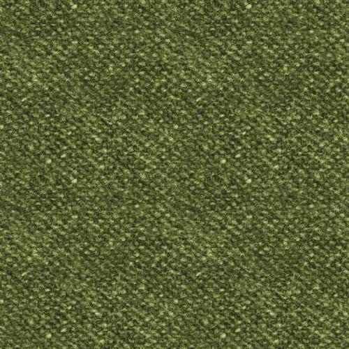 Woolies Flannel  - Green Tweed