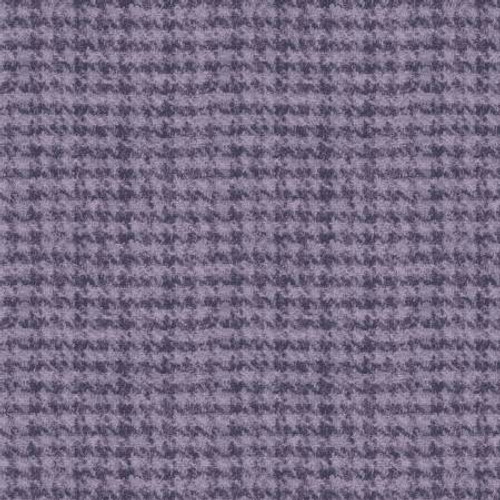 Woolies Flannel  - Lavender Houndstooth