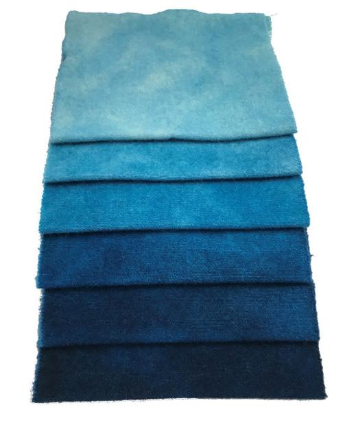 Cornflower Blue - 6 Piece