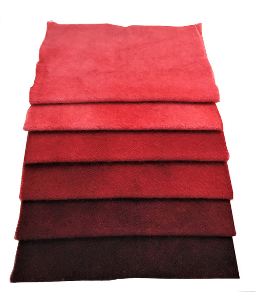 Holly Berry Red - 6 Piece