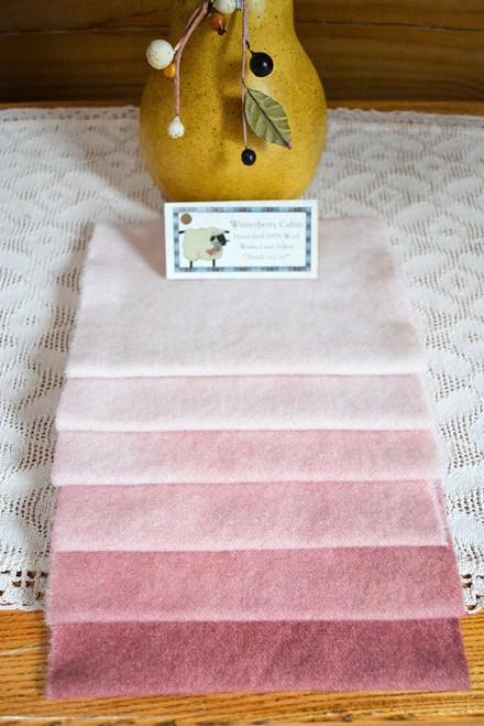 Vintage Pink - 6 Piece