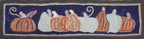 Pumpkin Patch on Linen