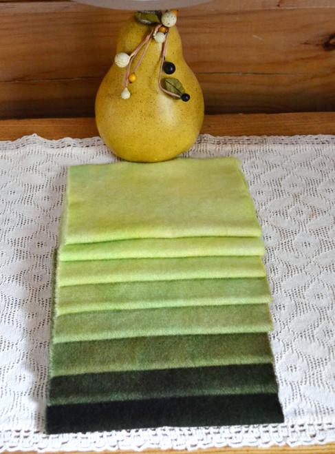Kelp to Yellow - 8 pc Piece