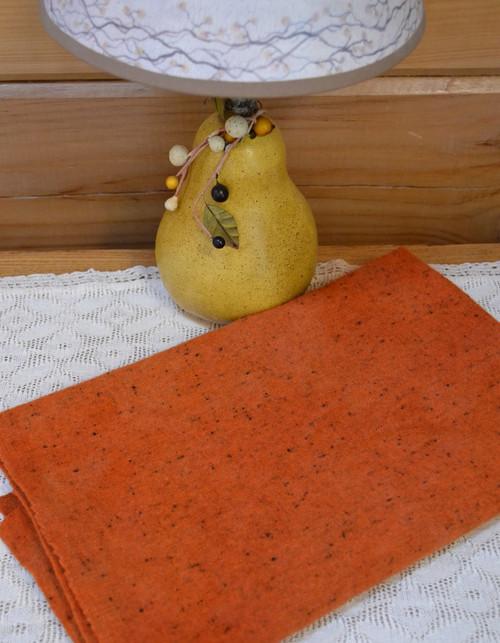 True Orange on Gray Heather