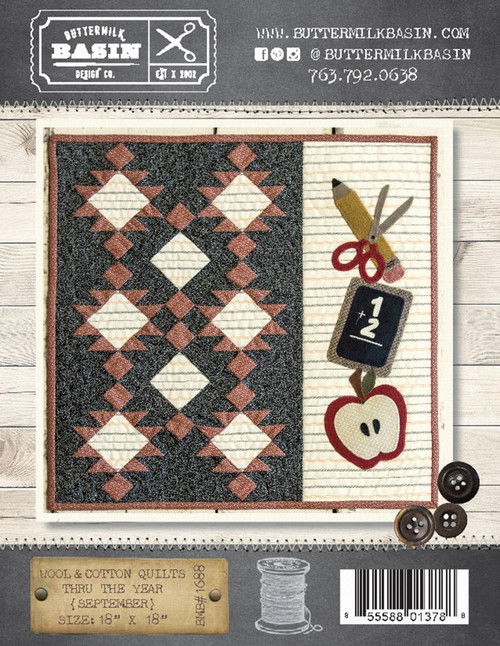 Wool & Cotton Quilts thru the Year - September