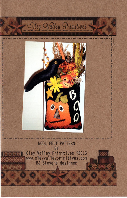 BOO Halloween Penny Pouch