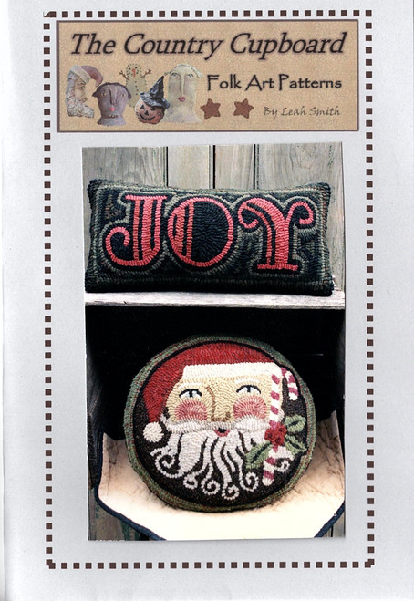 Santa Joys Hooked Pillows