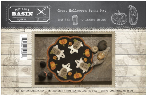 Ghost Halloween Wool Kit