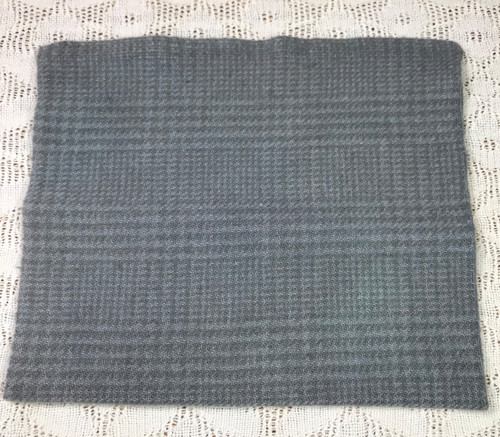 Slate Gray on Camel Glen Plaid